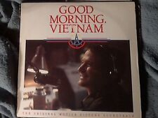 Good Morning Vietnam Original Soundtrack 1988 A&M Records LP Robin Williams C
