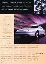 1996 GM Aurora V8 - Companies - Classic Vintage Advertisement Ad D156