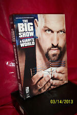 WWE: Big Show - A Giant's World (DVD, 2011, 3-Disc Set) BRAND NEW FACTORY SEALED