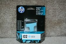 Hp Ink Cartridge 02 Light Cyan Brand New Never Opened