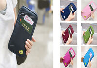 Travel Passport Holders Ticket Protector Cover Case Document Bag Organizer Purse