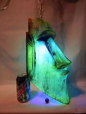 TIKI ROOM MOAI HANGING LAMP BAR LIGHT LAVA NEON EASTER ISLAND STATUE LANTERN MUG