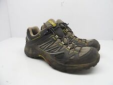 Salomon Women's Ellipse GTX Running Trail Hiking Shoe Black Yellow Size 6M
