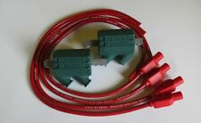 Honda GL1000 Goldwing 3 ohm Dyna Performance Ignition Coils and Taylor Leads.red