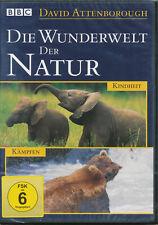Die Wunderwelt der Natur David Attenborough Kindheit Kämpfen DVD NEU