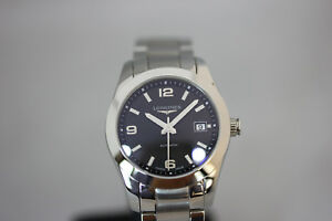 Longines Conquest Classic Black Dial Stainless Steel L22854566 UNGETRAGEN