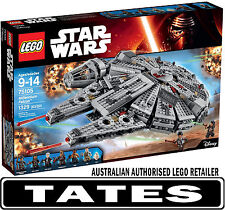 LEGO 75105 MILLENIUM FALCON STAR WARS from Tates ToyWorld