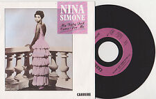 Nina Simone ♫ My baby just cares for me ♫  1987 .Carrere 14373