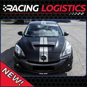 Racing Stripes Mazda 3 MPS Decals Stickers Vinyl RX-7 RX-8 MX-5 Miata CX5 CX7 6