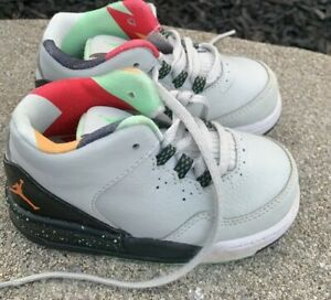 Jordan Flight 23 Size 6C/22 (705162-015) Boho Retro Basketball ECU Gray