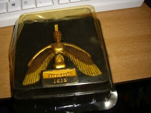 """new boxed, ISIS Egyptian God statue 4"""" wide  2"""" deep 4"""" tall"""