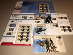 Australian SAS Regiment 50th Anniversary 2007, Complete Stamp & Coin Set. MINT !