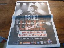 PATRICK BRUEL - PUBLICITE Lille 2014 !!! Points de vente !!!