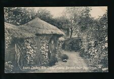 Sussex BOGNOR Bersted Rustic Garden & Stamp House c1920 PPC
