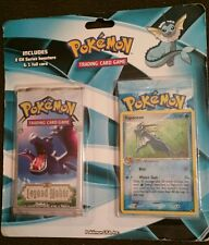 POKEMON LEGEND MAKER & CRYSTAL GUARDIAN BLISTER PACK WITH VAPOREON PROMO