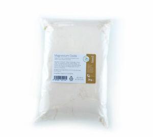 MAGNESIUM OXIDE 2kg - Mag Ox Calmer - Horse Equine Supplement - 98.3% Pure
