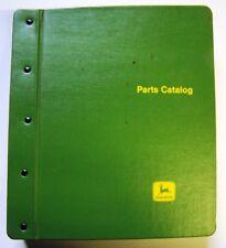 John Deere 2040 and 2240 Tractors Parts Manuals In Factory Binder
