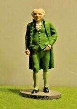 Danbury Mint Pewter By D. LaRocca Hand Painted President to scale John Adams
