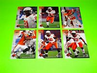 6 BC BRITISH COLUMBIA LIONS UPPER DECK CFL FOOTBALL CARDS 1 5 6 8 10 104 #-4