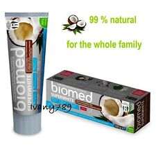 BIOMED/Splat SUPER Whitening Toothpaste with Coconut Free Paraben & Fluoride
