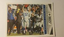 NFL Trading Card Andrew Luck Indianapolis Colts Score 2013 Panini