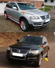 VW TOUAREG MK1 2002-2010 MINIGONNE LATERALI SOTTO PORTA DESIGN R50 RLINE .-1