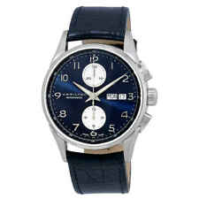 Hamilton Jazzmaster Maestro Chronograph Automatic Blue Dial Men's Watch