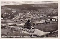 uralte AK,Flieger-Foto vom Berghaus Schwartenberg mit Neuhausen Erzgebirge Nr.62