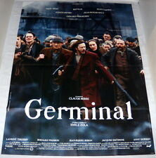 GERMiNAL Renaud Gérard Depardieu Miou-Miou Emile Zola Jean Carmet GRANDE AFFiCHE