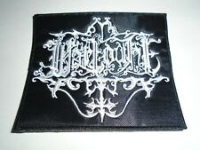 WARLOGHE BLACK METAL EMBROIDERED PATCH