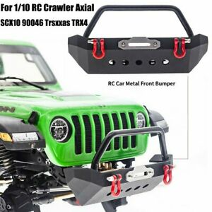 Metal Front Bumper for 1/10 RC Crawler Axial SCX10 90046 Trsxxas TRX4