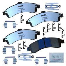 Disc Brake Pad Set-Fleet MetLok Disc Brake Pad Front Bendix MKD882FM