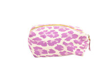 L'Agent by Agent Provocateur Womens Animal Cosmetic Bag Zipper Purple Size OS