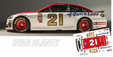 CD_2598 #21 Ryan Blaney 2016 Wood Brothers Ford    1:24 scale decals