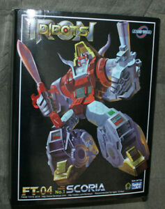 Fanstoys Fans Toys MP Ft-04 Scoria Slag G1 Transformers masterpiece US SELLER