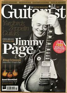 Guitarist Magazine November 2014 No.387 (Rare)(134) Jimmy Page