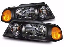 HOLIDAY RAMBLER NEPTUNE 2003 2004 BLACK HEAD LIGHT LAMPS HEADLIGHTS RV - SET