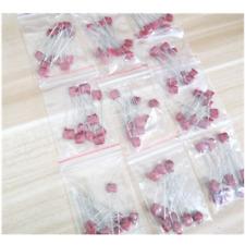New 100pcs Polyester poly Film Capacitors Assortment Kit 0.1nF~100nF 2A104  OJ