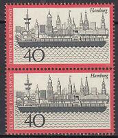 761 postfrisch Paar senkrecht BRD Bund Deutschland Briefmarke Jahrgang 1973