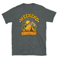 Outdoors Hiking Camping Backpacking Weekend Erection Short-Sleeve Unisex T-Shirt