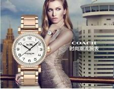 COACH MADISON LADIES ROSE GOLD TONE WATCH