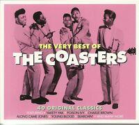 THE VERY BEST OF THE COASTERS - 2 CD BOX SET - 40 ORIGINAL CLASSICS