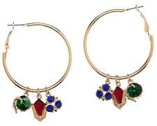 Legend of Zelda Ocarina Of Time Spiritual Stones Hoop Earrings