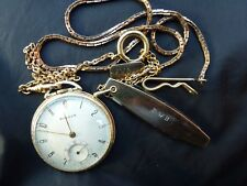 ea7320a90 Bulova Gold Plated Antique Pocket Watches with 17 Jewels for sale | eBay