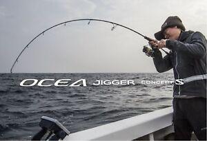 Shimano Rod Spinning Ocea Jigger Concept S S642 392343