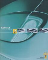 Prospekt Renault Espace 2003 Autoprospekt Auto PKWs Frankreich 4 03 brochure