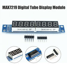 MAX7219 8 Bit 7-Segment Digital Tube Blue Display Control Module for Arduino