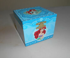 "Disney Princess LITTLE MERMAID Ariel ""Under the Sea"" Jewelry Music Box -PreOwned"