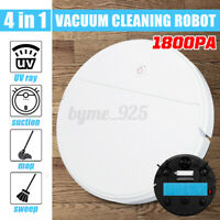 Rechargeable Automatic Smart Robot Vacuum Cleaner Dry & Wet Floor Mop Sweeping