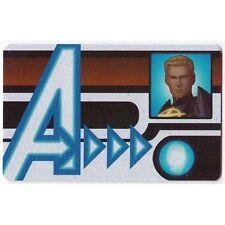 HEROCLIX NICK FURY Agent of SHIELD - ID Card #004 Quasar *UC*